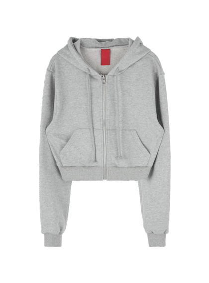 Mini Zip-Up Hoodie