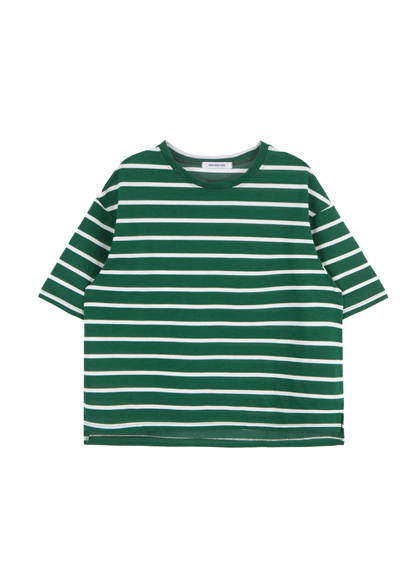 HIDE AND SEEKStriped Boxy Tee