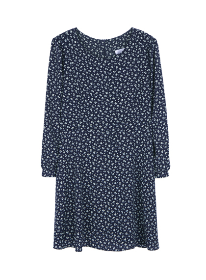 BAUHAUSFlower Print Long Sleeve Dress