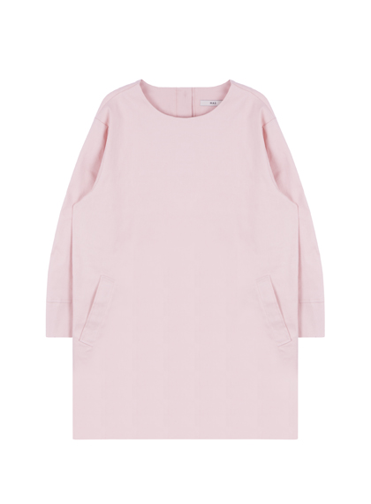 HASCotton Long Sleeve Shift Dress