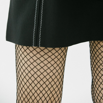 Basic Black Fishnet Stockings