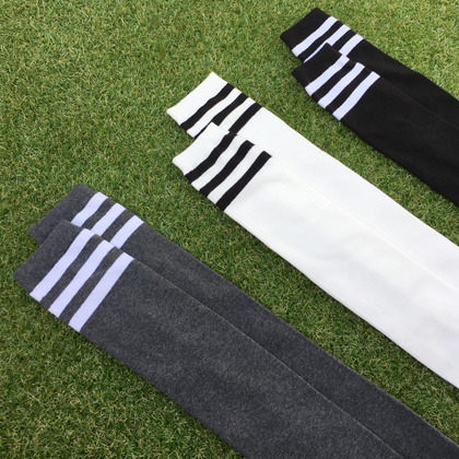 Stripe Detailed Over The Knee Socks