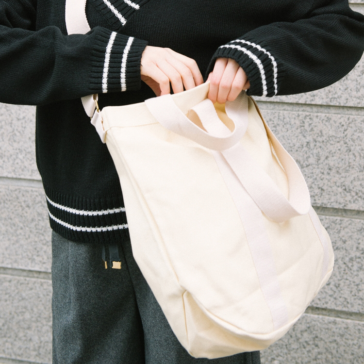 Canvas Two-Way Carry Bag