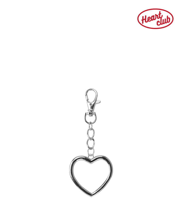 HEART CLUBHeart Accent Keyring