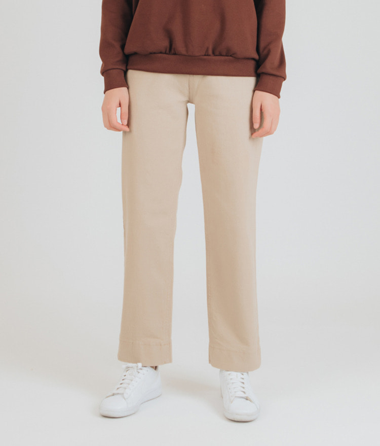 ESSAYTwo-Button Straight Cut Pants