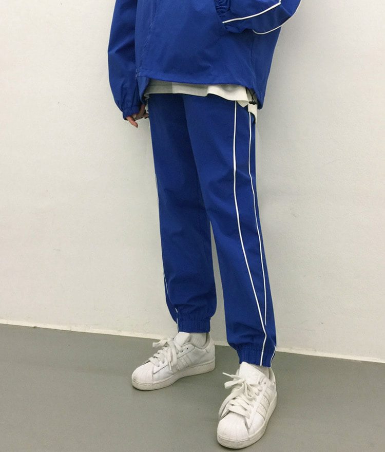 NEVERM!NDPatch Detail Contrast Piping Joggers
