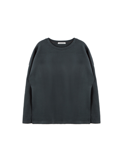 HIDE AND SEEKBasic Cotton Long Sleeve Top